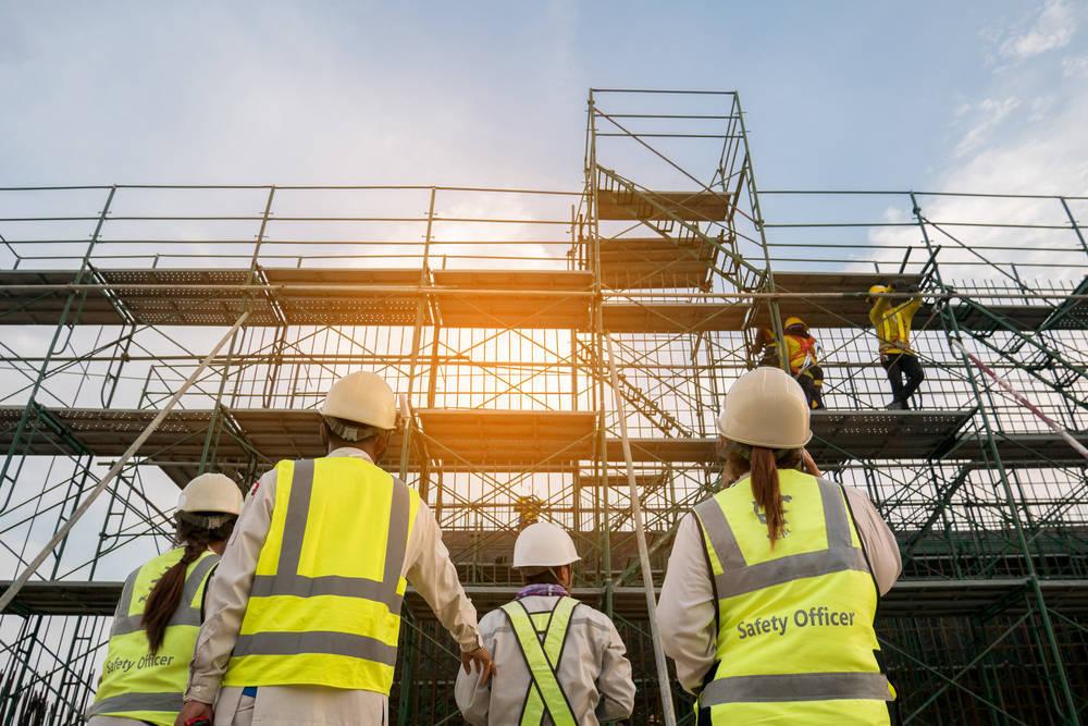 Los andamios, mucho más que un servicio para las constructoras