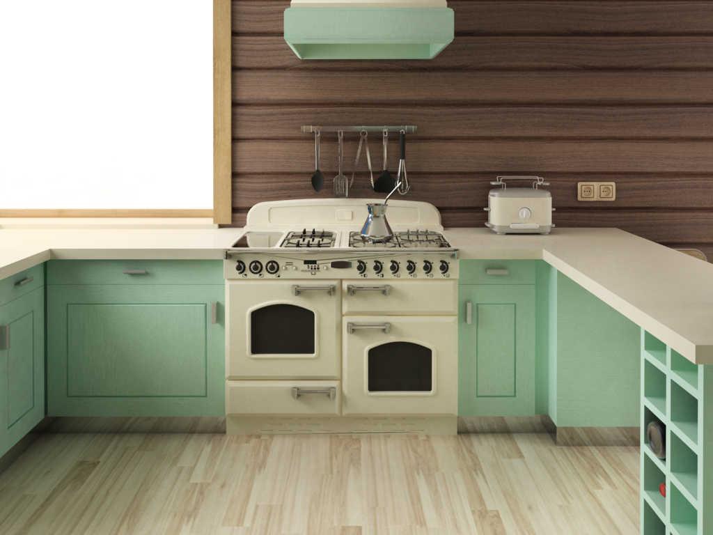 Las cocinas calefactoras, económicas, funcionales y muy atractivas